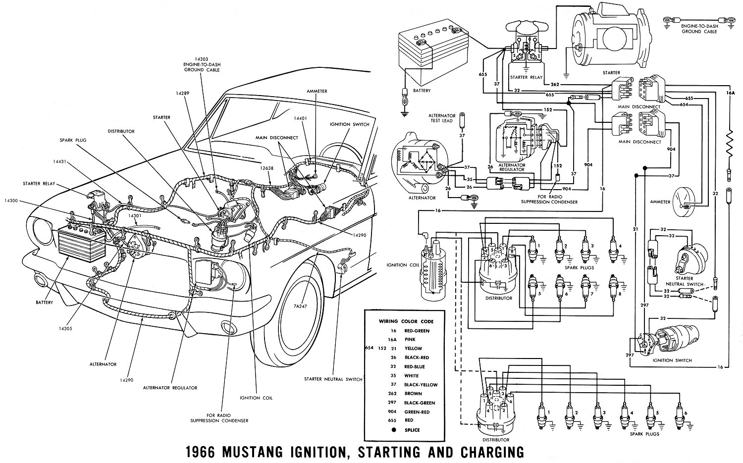 1965 wiring that goes to starter solenoid with Another Led Taillight Question on 1969 Cadillac Deville Vacuum Diagram besides Suggested Wiring Diagram Alternator further 1971 Ford Mustang Wiring Harness in addition Ford 5 4 Liter Engine Diagrams And Schematics furthermore 686489 Gas Gauge Wiring 3.